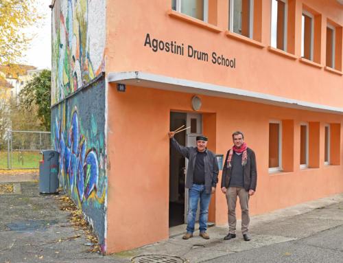 Musik entdecken – Agostini Drum School öffnet die Türen