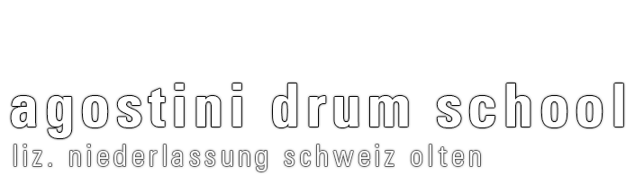 agostini drum school Logo