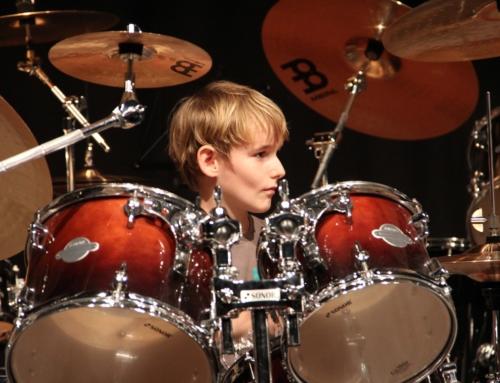 Schlagzeugkonzert im Kulturzentrum Schützi in Olten, 2014
