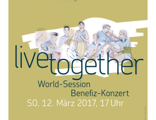 live together – Benefiz-Konzert in Schönenwerd