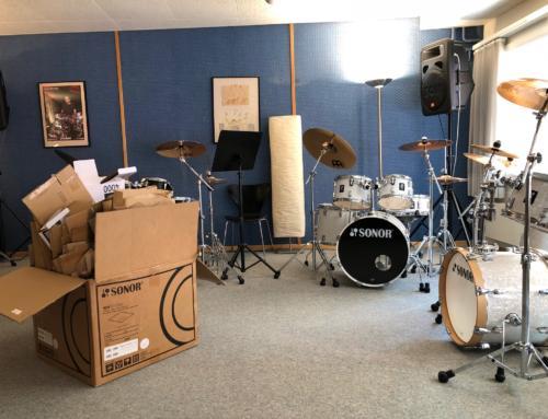 Neue Drums für unsere Drum School