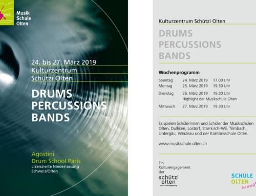 Schülerkonzerte vom 24. bis 27. März 2019