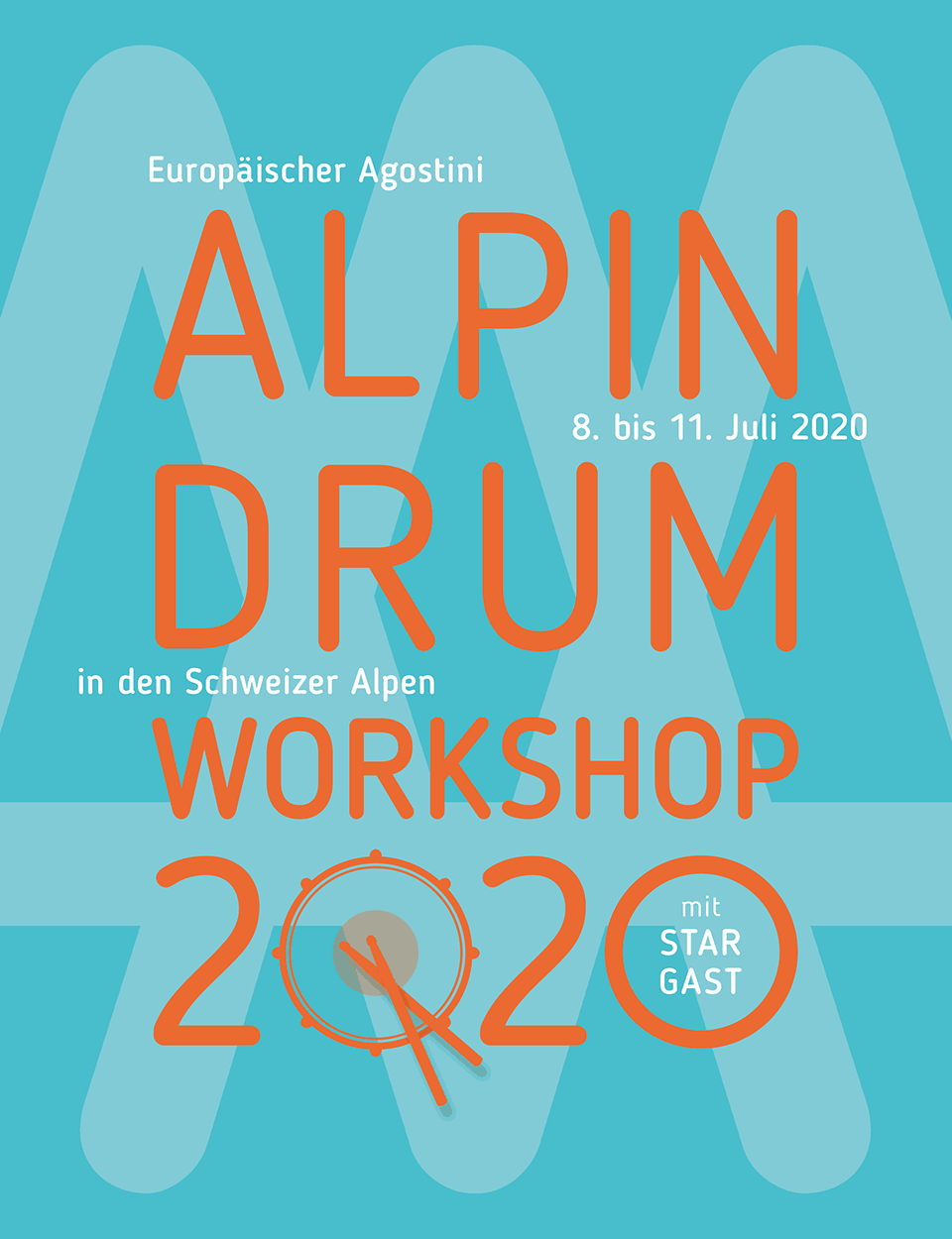 Alpin Drum Workshop 2020, Anmeldung